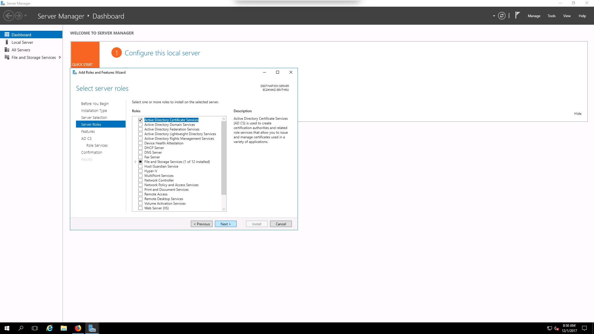 Using Sdkms With Microsoft Pki Fortanix