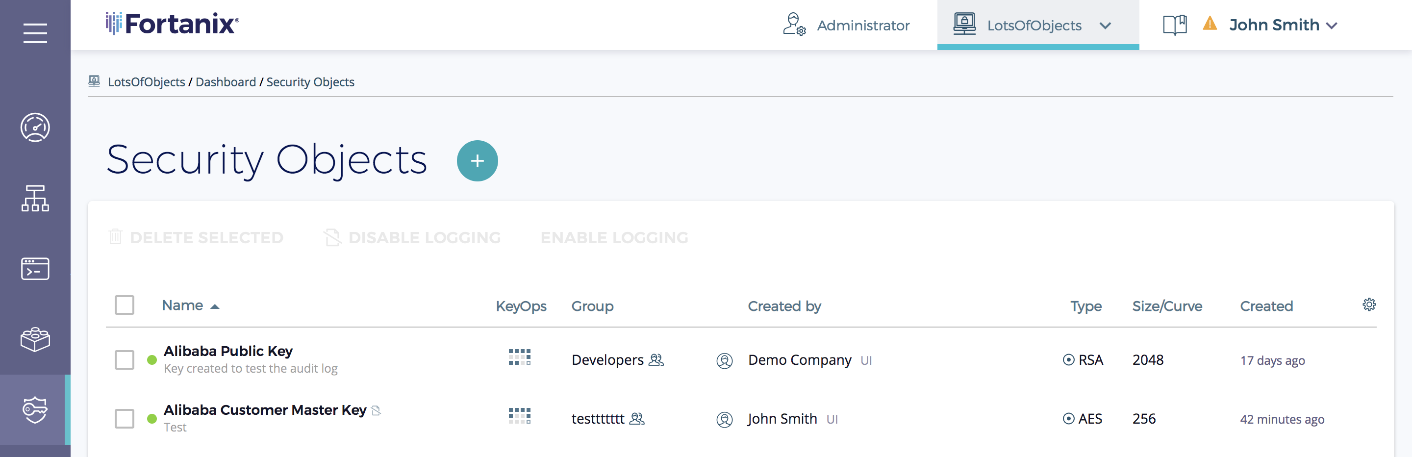 Exporting SDKMS keys to Cloud Providers for BYOK – Fortanix